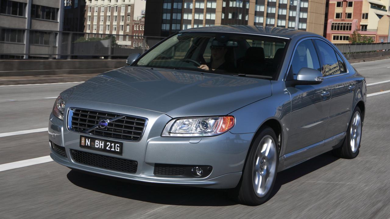 As is Volvo's big S80 sedan.