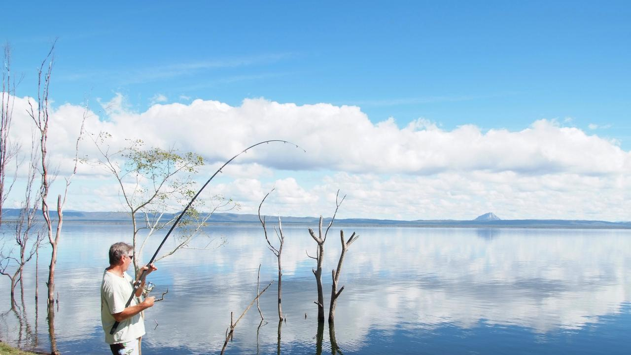 Visitors to Whitsunday Regional Council's free camping areas at Lake Proserpine and Proserpine RV Park are not being forced to fill out contact forms handed out at other accommodation for COVID tracing. Photo: Tourism Whitsunday