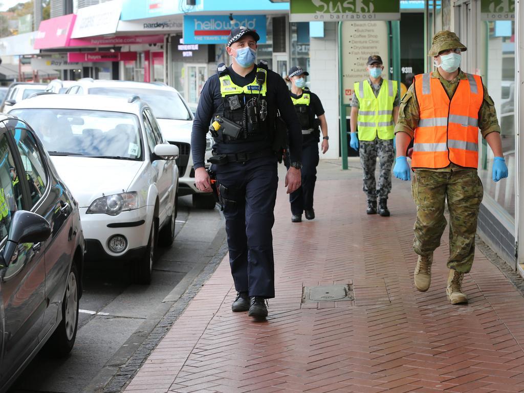 Australia's worst-hit state 'flattening' virus curve