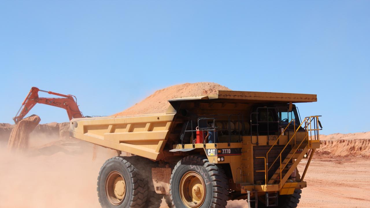 Demand for zircon, which is used in ceramics, has fallen due to the coronavirus pandemic and led to a profit slide for a mineral sands miner.