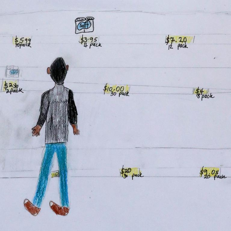Kimberley Boag-Hodgson's drawing.