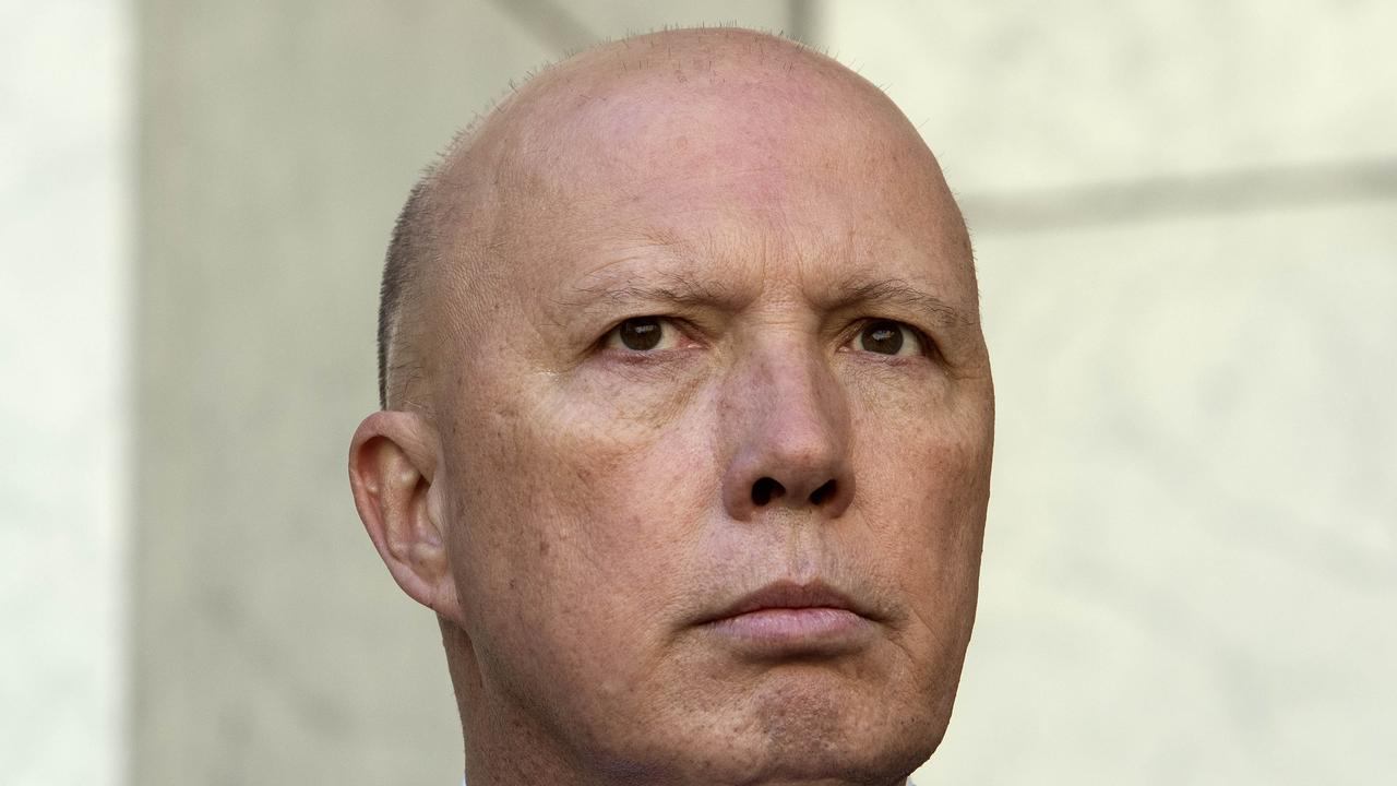 "Peter Dutton says health checks at borders have ""nothing"" to do with Australian Border Force."