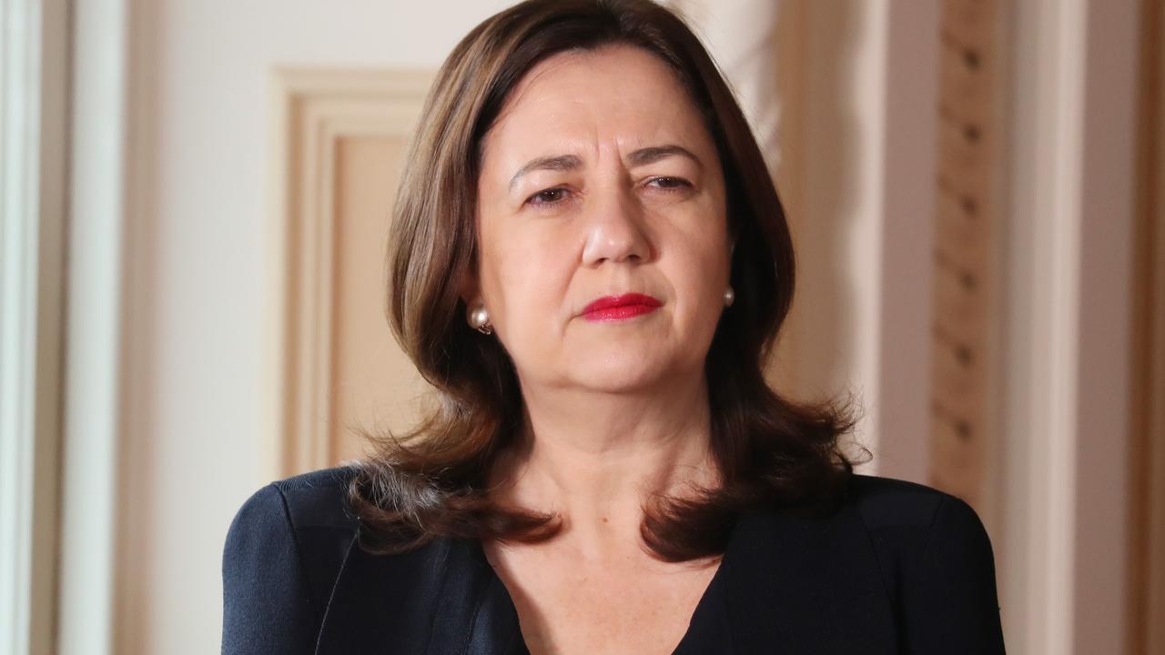 Premier Annastacia Palaszczuk has confirmed two new cases of coronavirus in Queensland. Picture: Annette Dew