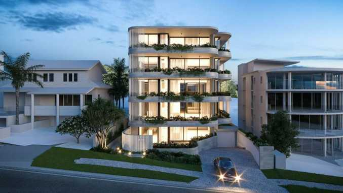 Beachfront holiday home makes way for five-storey unit block