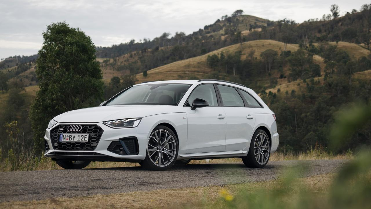 The A4 Avant provides the practicality of an SUV with the driving prowess of a sedan.
