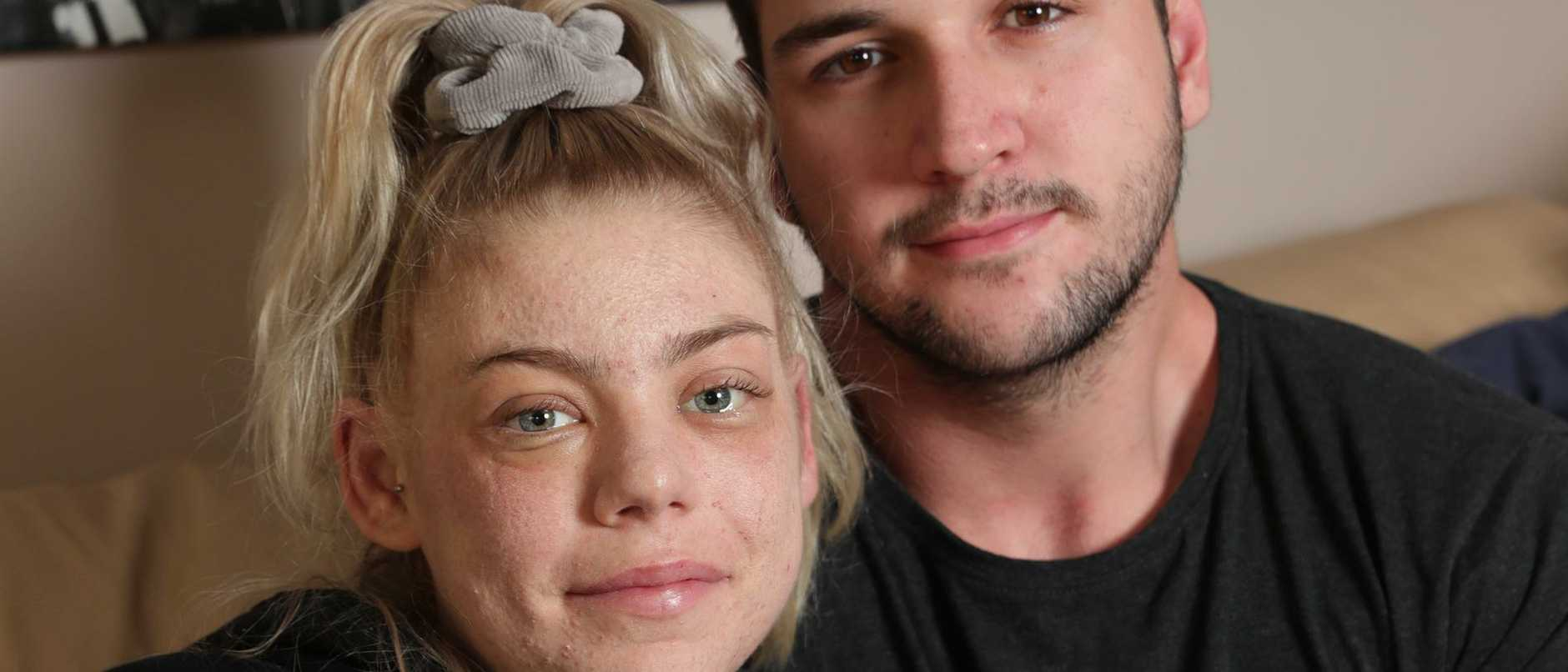 Dad determined to help his terminally-ill daughter Ashleigh Simrajh marry