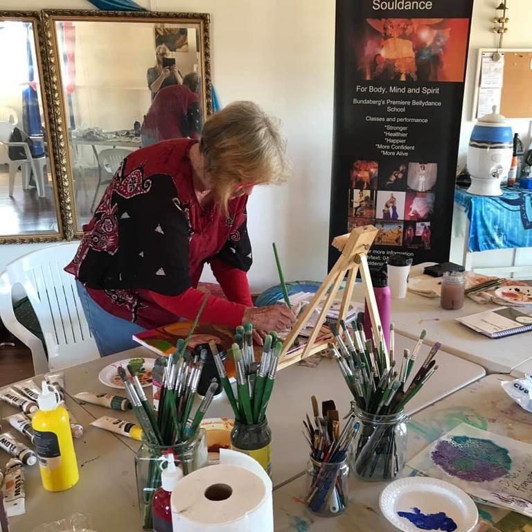 ART HUB: One of the popular art workshop events held at Vintner's Secret Vineyard.