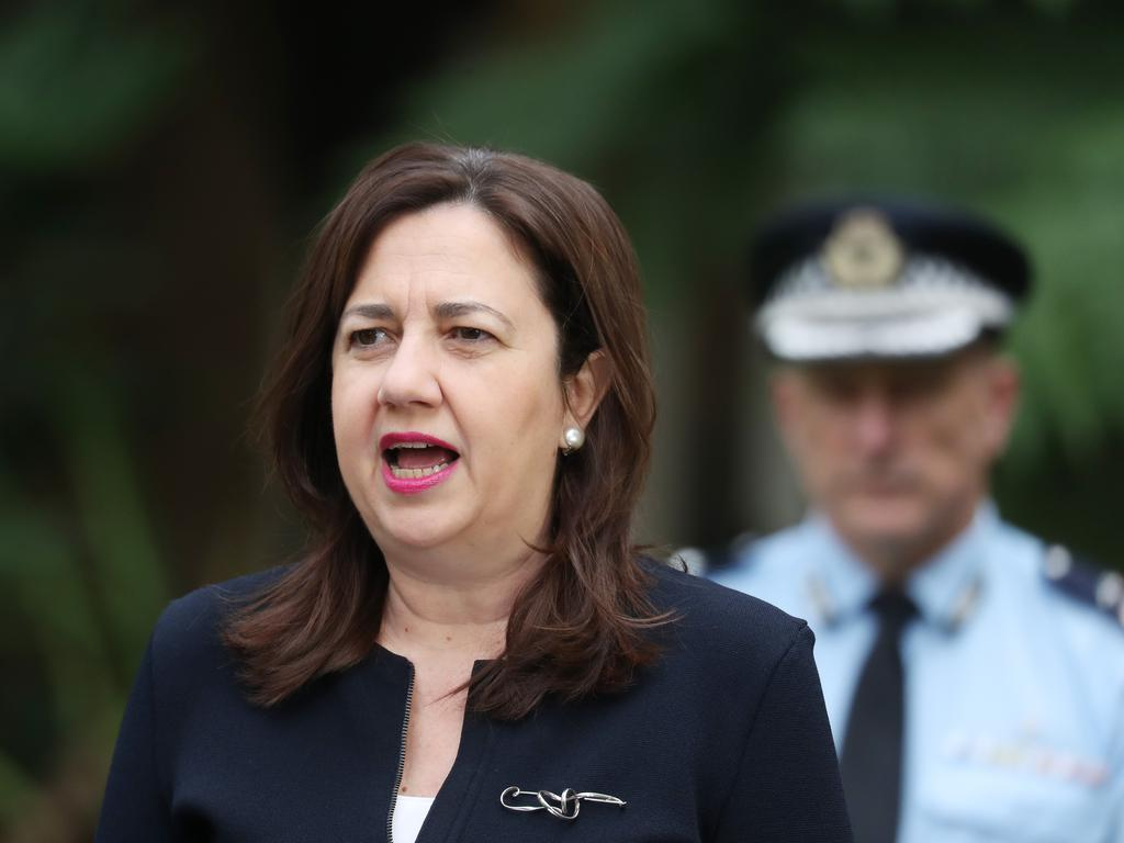 In the 2016 column, Premier Annastacia Palaszczuk opinied on how Queenslanders were indebted to the courage of whistleblowers and trailblazing reporters who had uncovered corruption in Queensland that led to the Fitzgerald inquiry. Pic Annette Dew