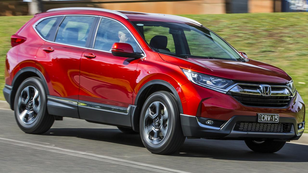 The Honda CR-V comes in five and seven seat layouts.