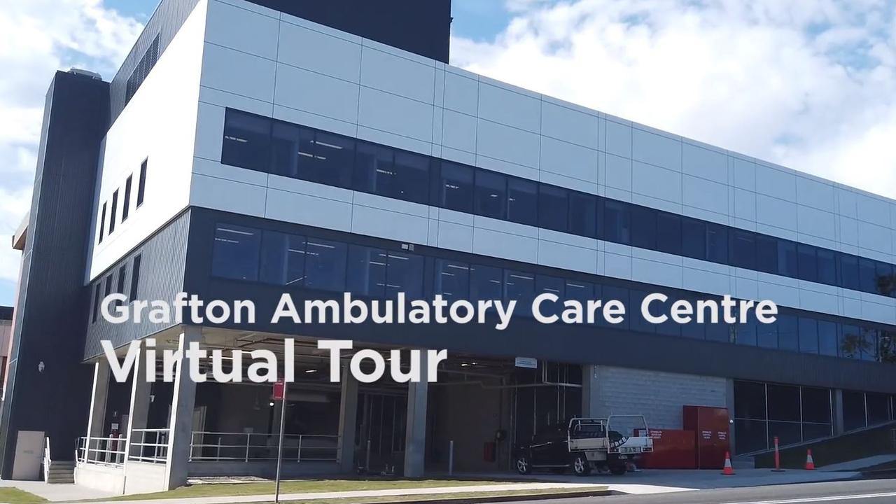 The Northern NSW Local Health District Media Unit has put together a virtual tour of the new $17.5 million Grafton Base Hospital Ambulatory Care Centre.