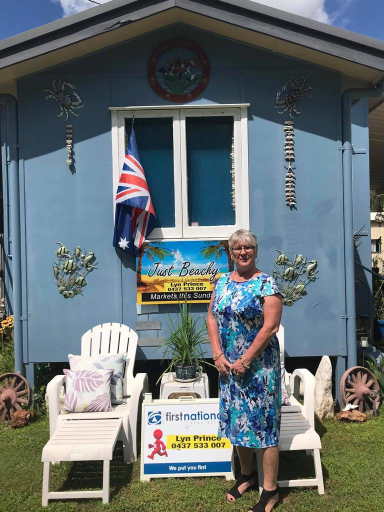 MEGA MARKETS: Hibiscus Coast Progress Association president Lyn Prince will be selling her home and garden decor at the Mega Markets in Seaforth this weekend.