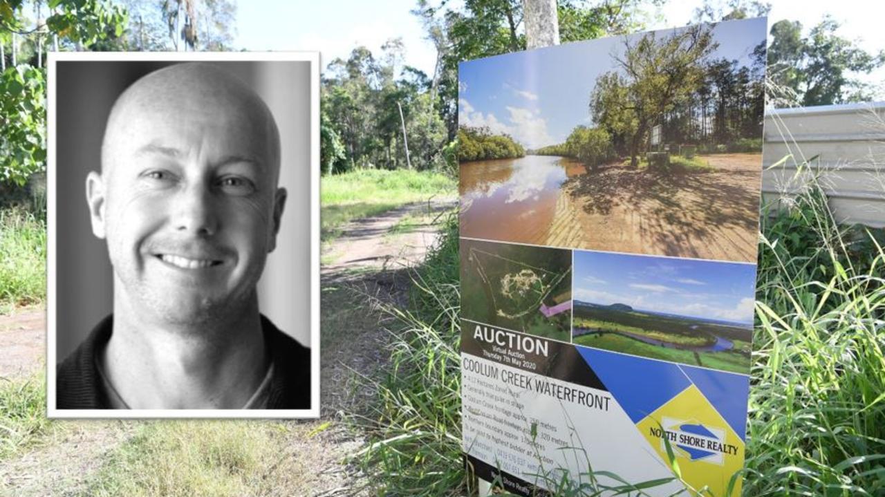Sunshine Coast property entrepreneur Keith Grisman has bought a 4.12ha block at Coolum Beach that is the subject of a Sunshine Coast Council enforcement order.