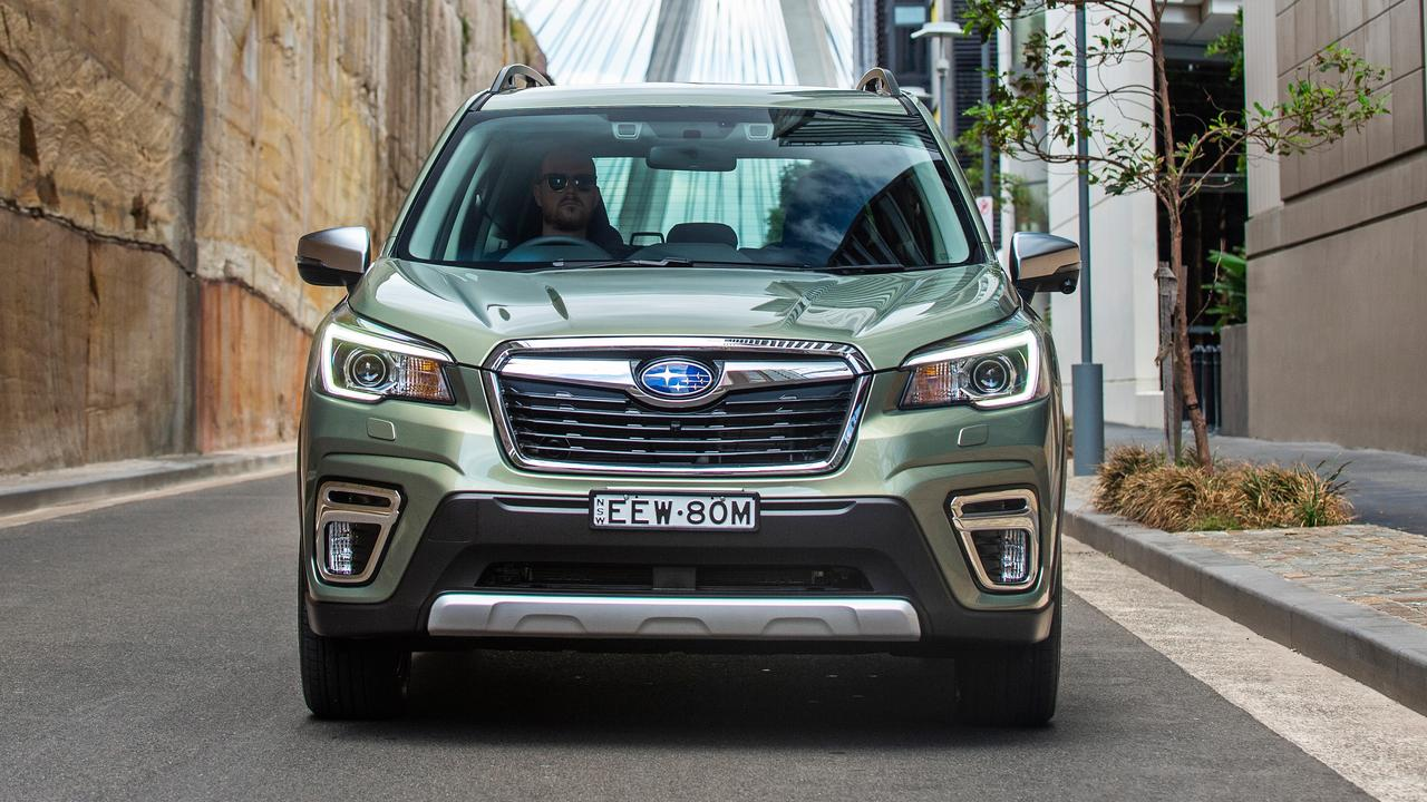 The model year 2020 Subaru Forester Hybrid L.
