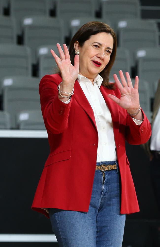 Queensland Premier Annastacia Palaszczuk. Picture David Clark