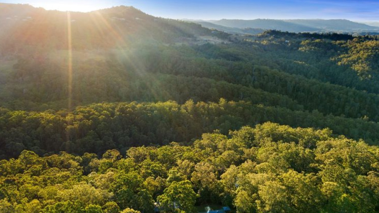 The Veronicas' property is in Landsborough in the Sunshine Coast hinterland.