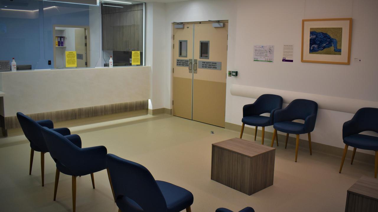 Inside the newly opened $17.5 million Grafton Base Hospital Ambulatory Care Centre.