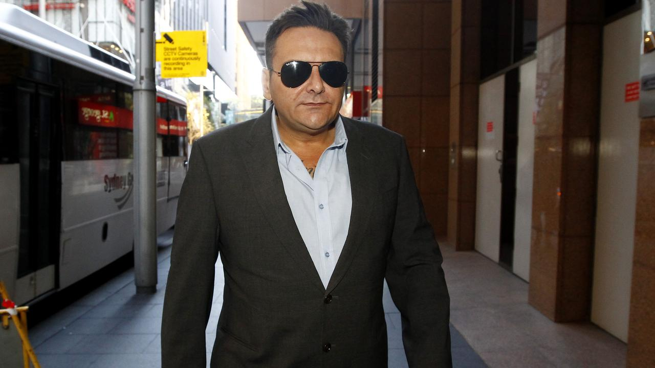 Construction identity George Alex has been charged over alleged tax fraud. Picture: AAP/Nikki Short