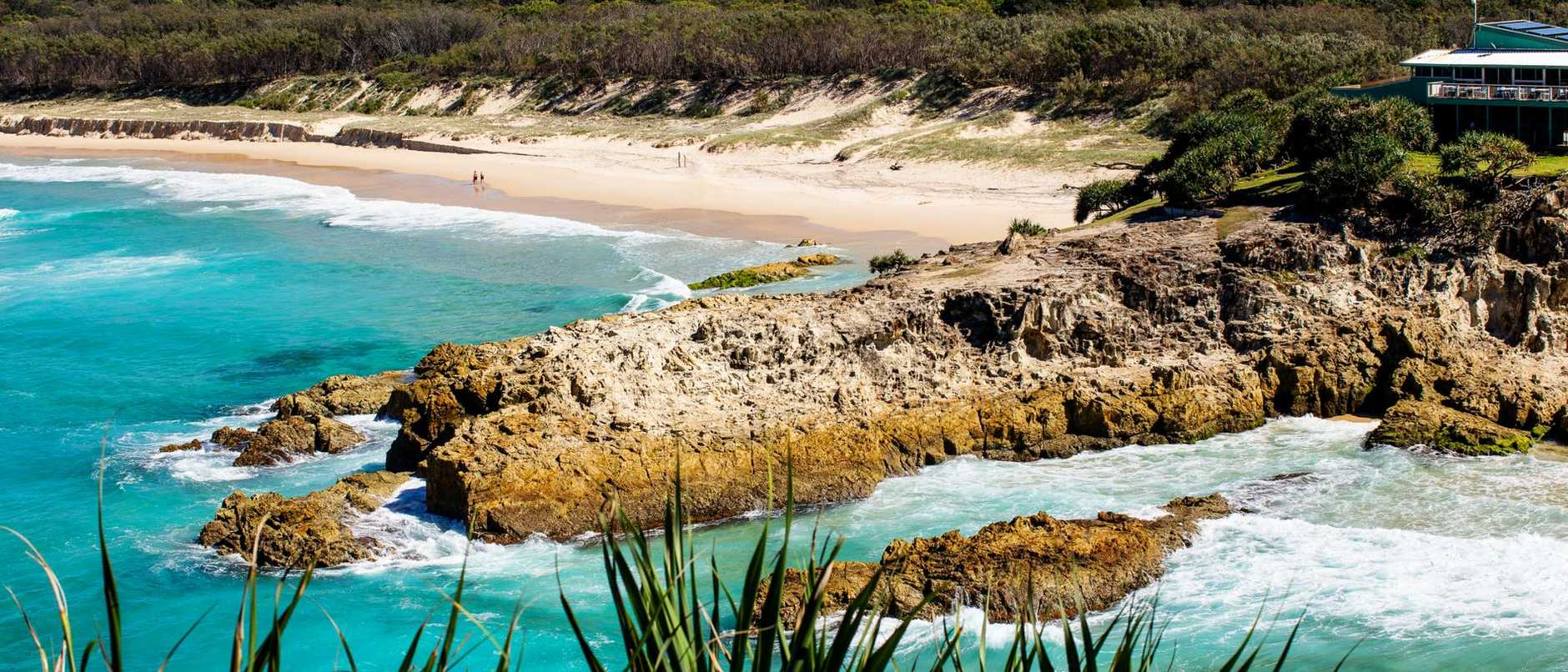 If you live in one of these postcodes and want to book a camping trip on North Stradbroke Island this weekend you can forget about it.