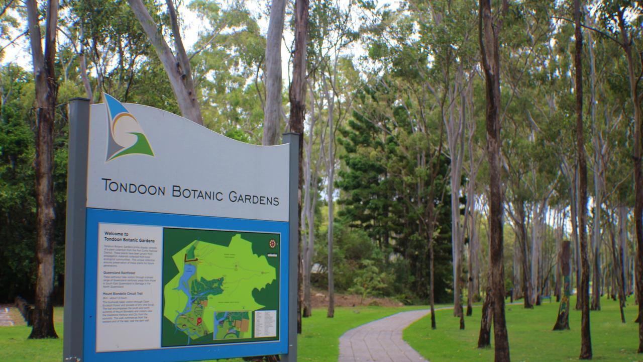 POPULAR SPOT: Tondoon Botanic Gardens.