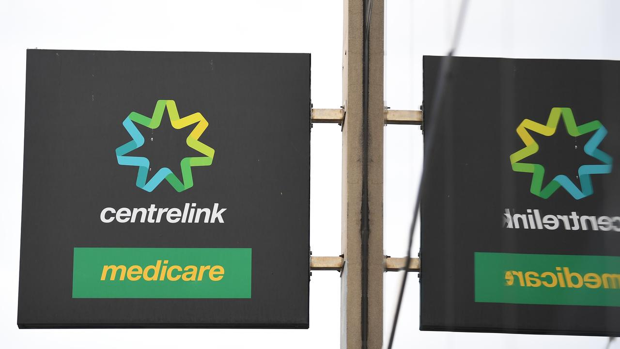 COURT: A man faced court for a number of offences including abusing Centrelink staff. (AAP Image/James Ross)