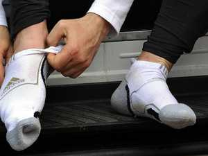 Western Downs man busted with meth stashed in his sock