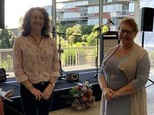 Karen Clarke with Karen Cook-Langdon were both