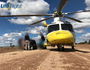Motorbike rider airlifted after collision with cow