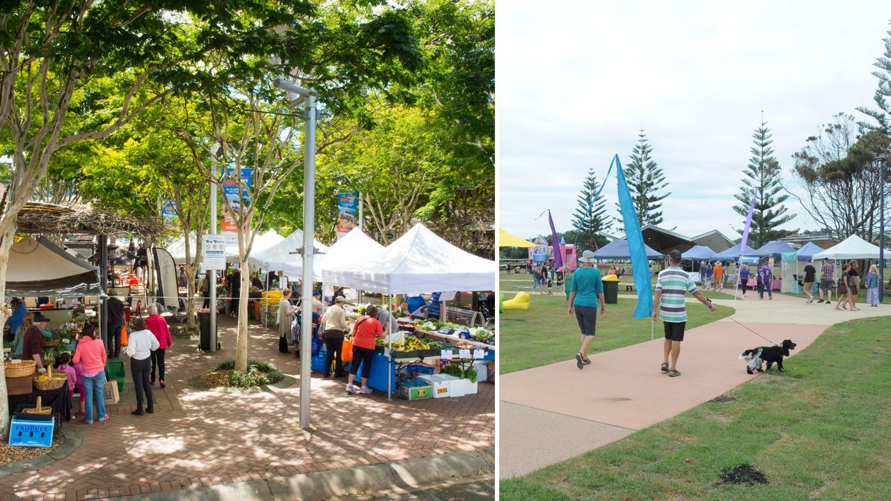The weekly Coffs Coast Growers Market and the Harbourside Markets are among a number of events on this week.