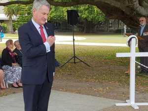Mackay marks end of WW2 anniversary in modern way