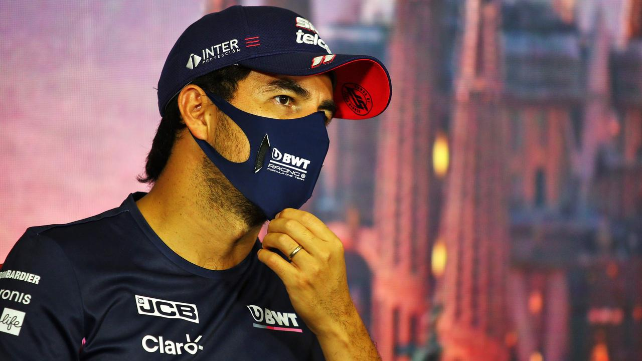 Sergio Perez has rubbished claims he became infected with COVID-19 after ignoring quarantine restrictions, spruiking his innocence.