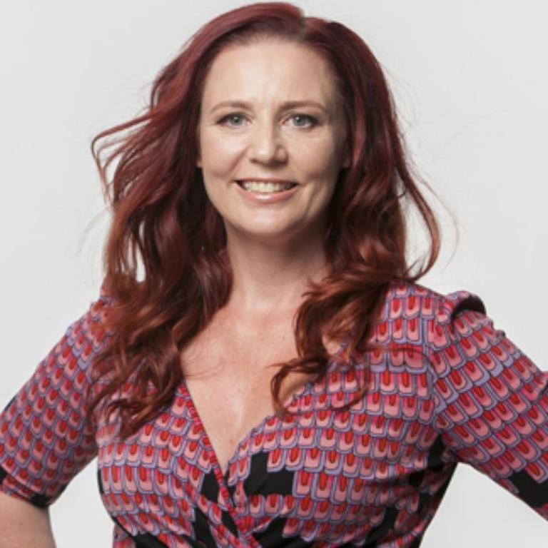 Louise Adams, psychologist an founder of anti-diet program Untrapped, says the phrase was made by industries selling weight loss products. Picture: Untrapped