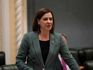 Frecklington slams opponent's petty politics on power plant
