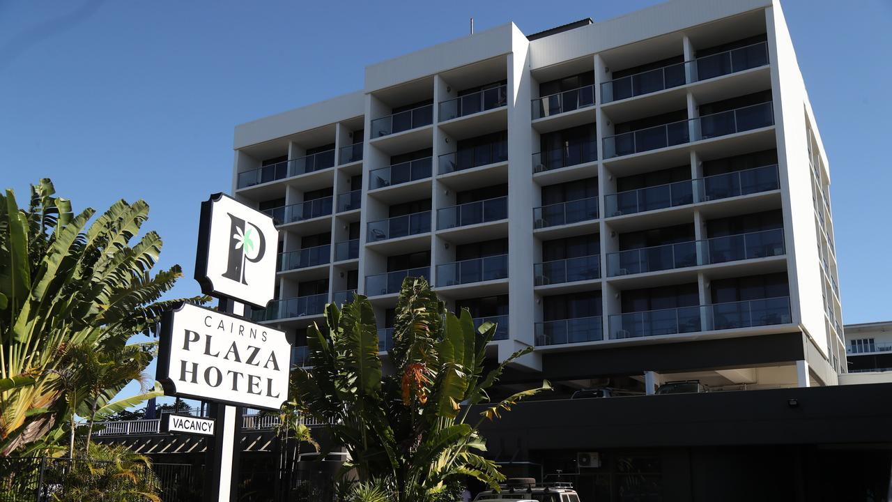 Brisbane man Anthony Brady, 52, was staying at the Cairns Plaza Hotel during his trip to Cairns. PICTURE: STEWART McLEAN