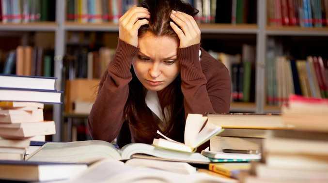 Stressed Aussie kids turn their backs on school