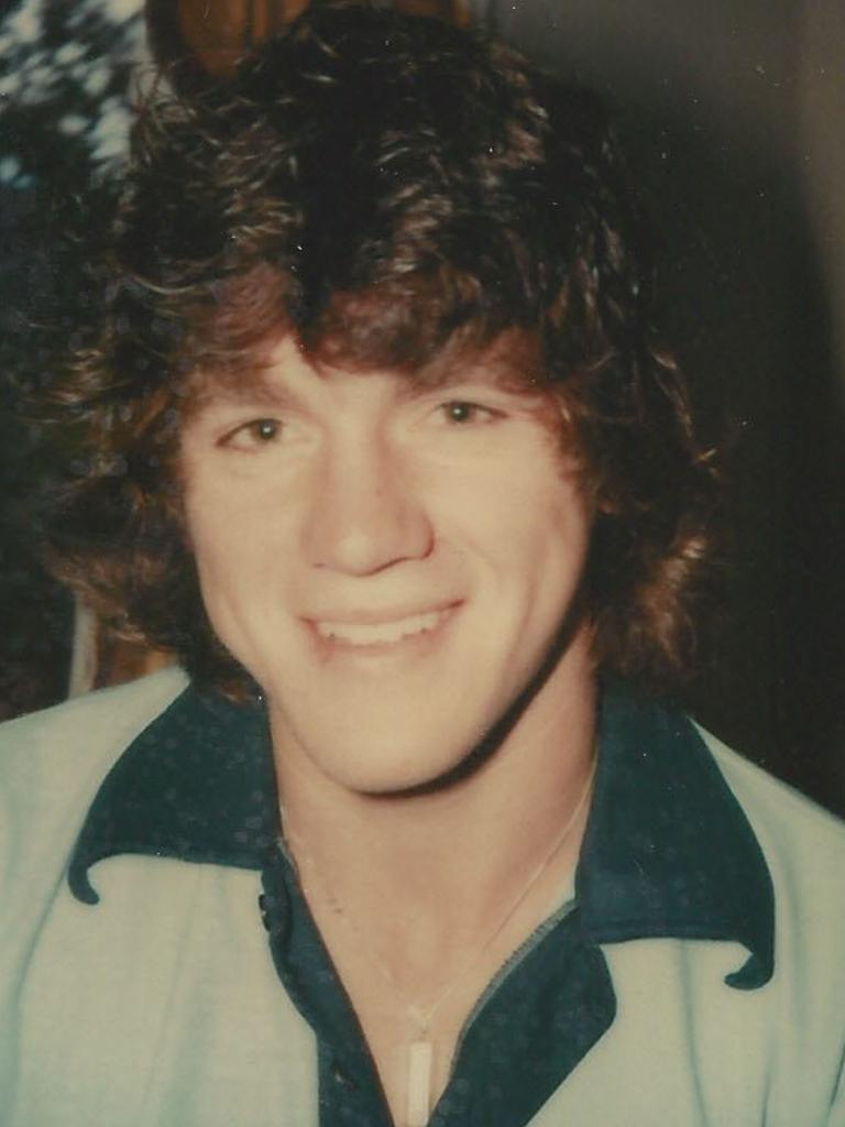 Brian in Mandurah in 1980.