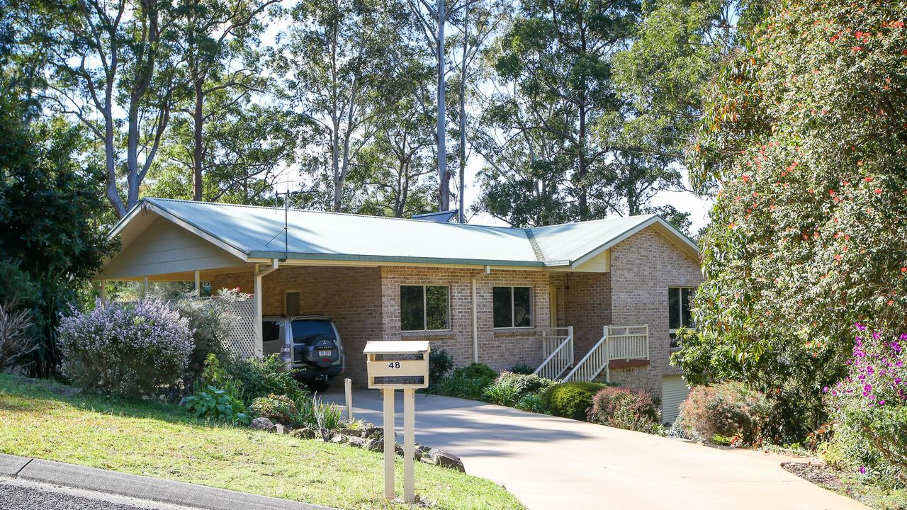 The home where William Tyrrell went missing. Picture: Lindsay Moller