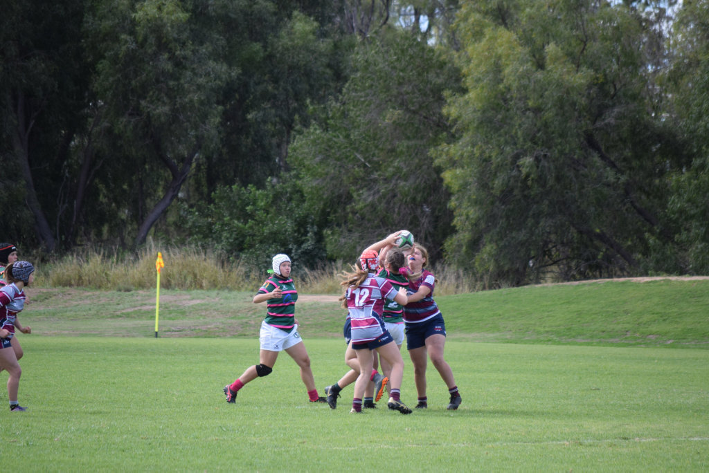 Image for sale: Chinchilla River Rats 15s and USQ 15s battled it out at Bulldog Park Chinchilla on Sunday, August 16.