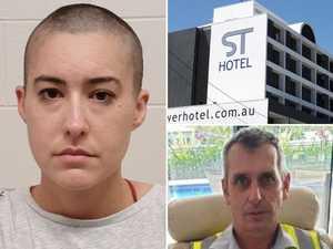 'Loyal, loving husband': Woman arrested over hotel death