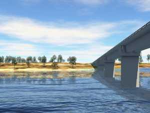WATCH: Drone captures progress on new bridge for Rookwood