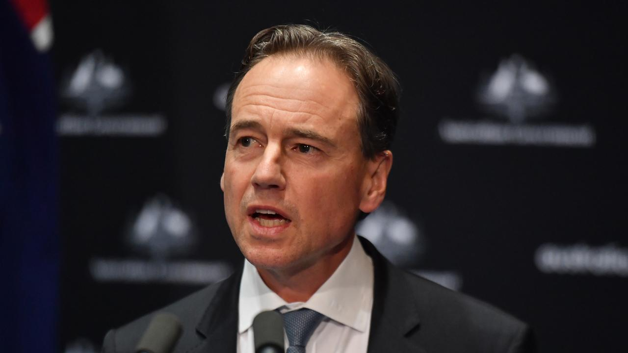 Health Minister Greg Hunt says it is now more likely than now a vaccine will be developed. Picture: AAP Image/Mick Tsikas