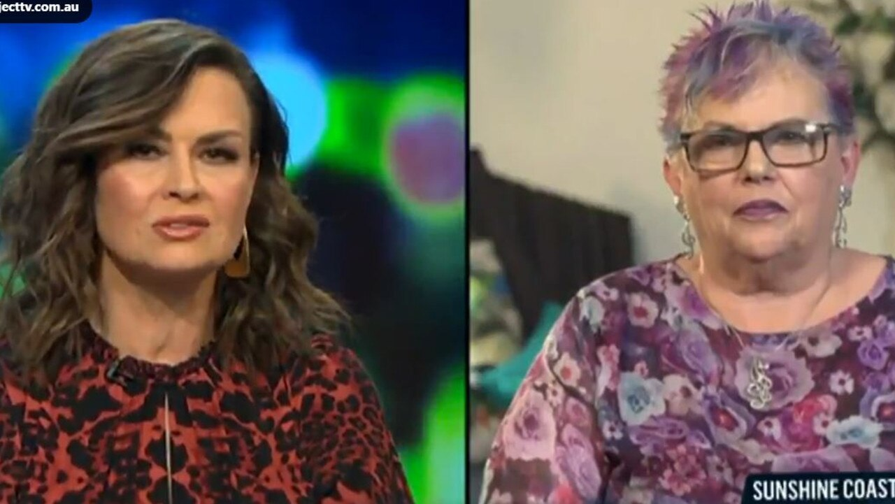 Host Lisa Wilkinson praised Ms Chamberlain for her strength and humour.
