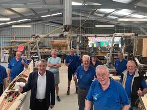 Grants help power up Iluka-Woombah Men's Shed