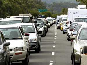 Nightmare Bruce Hwy traffic as holiday-makers leave Coast