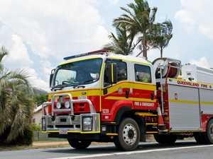 Firefighters battle blaze at Coast sewerage plant