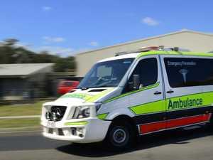 Emergency services rush to Rural View 'T-bone' crash