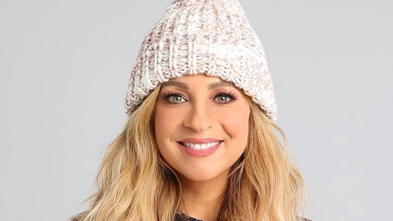 Earlier this year The Project host Carrie Bickmore said her popular brain cancer beanies sold out online. Photo: Instagram