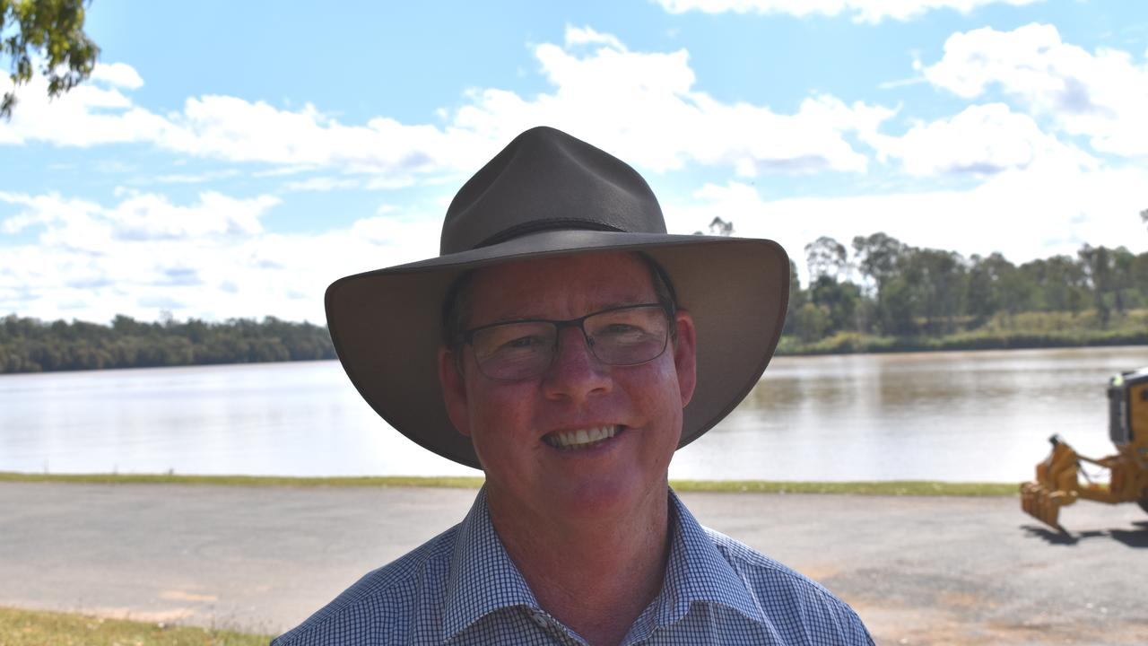 After years of waiting, Rockhampton MP Barry O'Rourke was delighted to help deliver the Rookwood Weir during his first term of government.