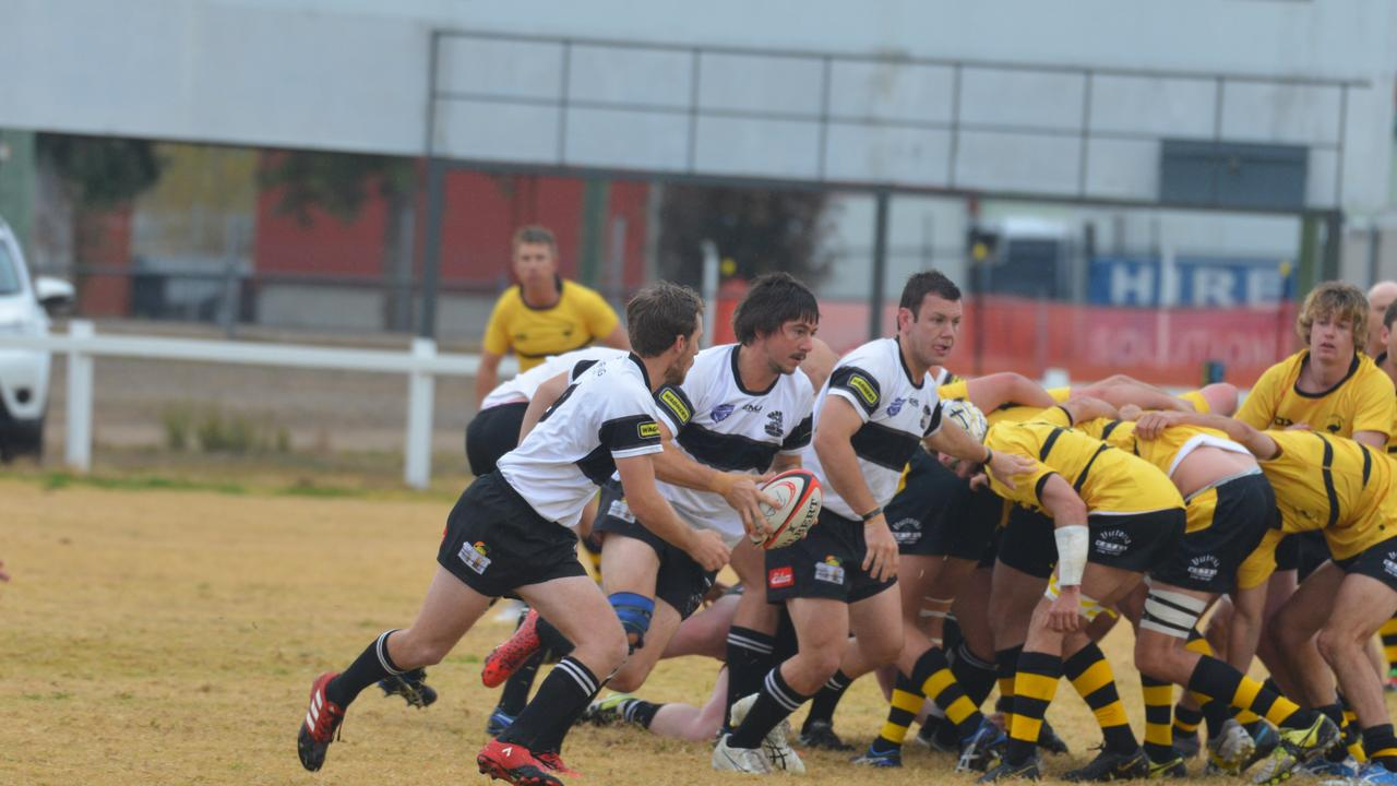 ON FIELD: The Warwick Water Rats could have their work cut out for them in their next three rounds. Picture: contributed