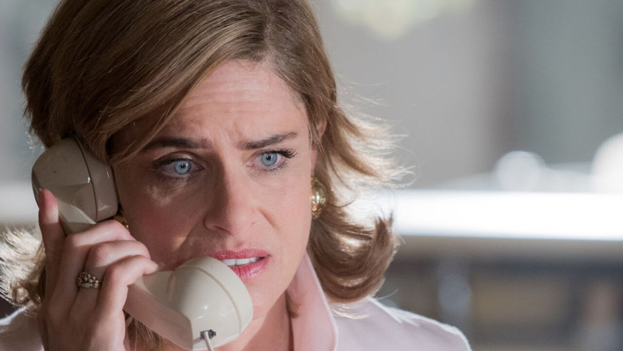 Betty was distraught over her separation from husband Dan. Amanda Peet as Betty Broderick. Picture: Isabella Vosmikova/USA Network/NBCU Photo Bank via Getty Images