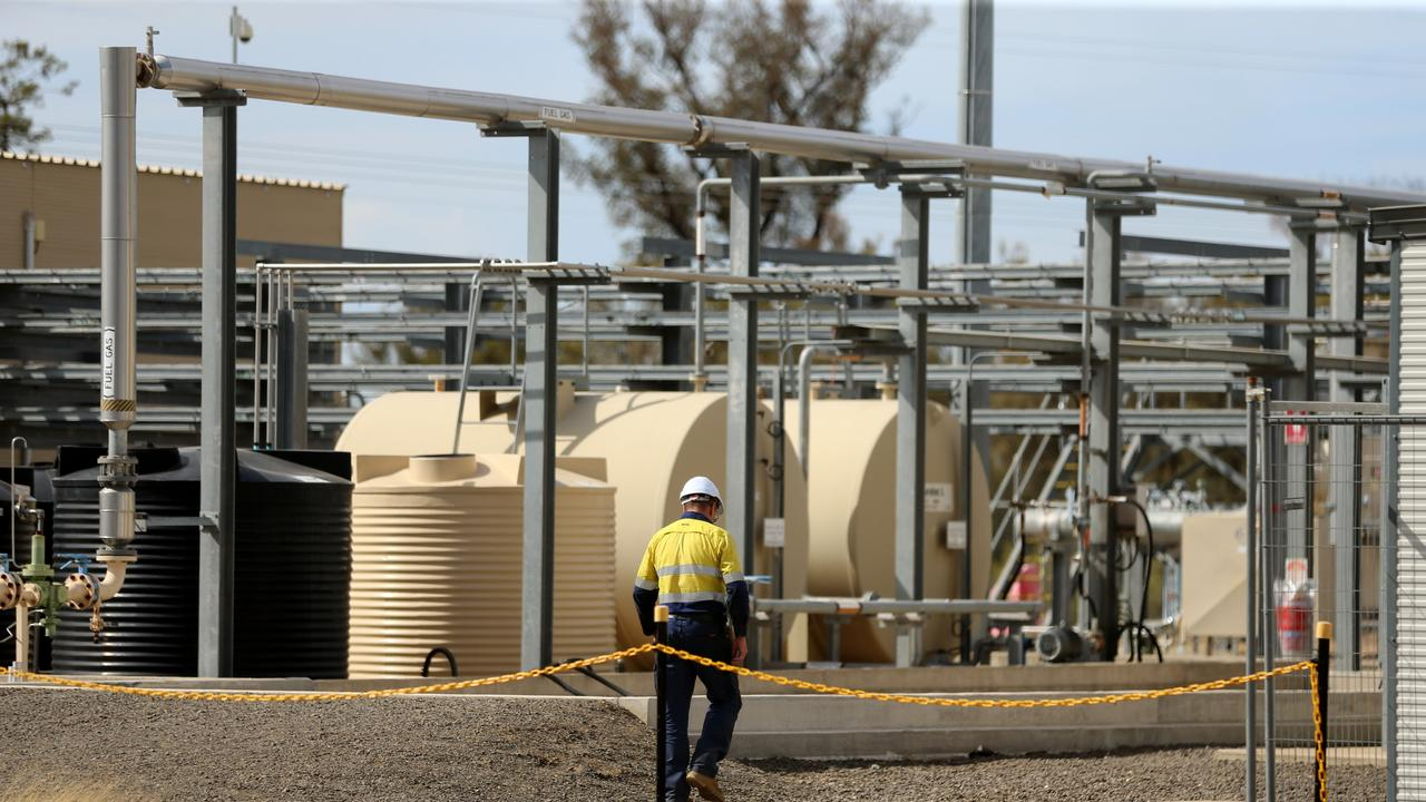 A new report has found that the Santos Narrabri Gas project will help states facing gas shortages. Picture: Nathan Edwards